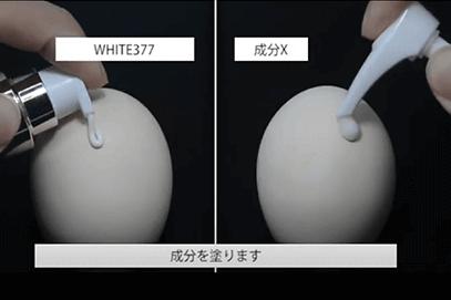 「WHITE377」成分について①